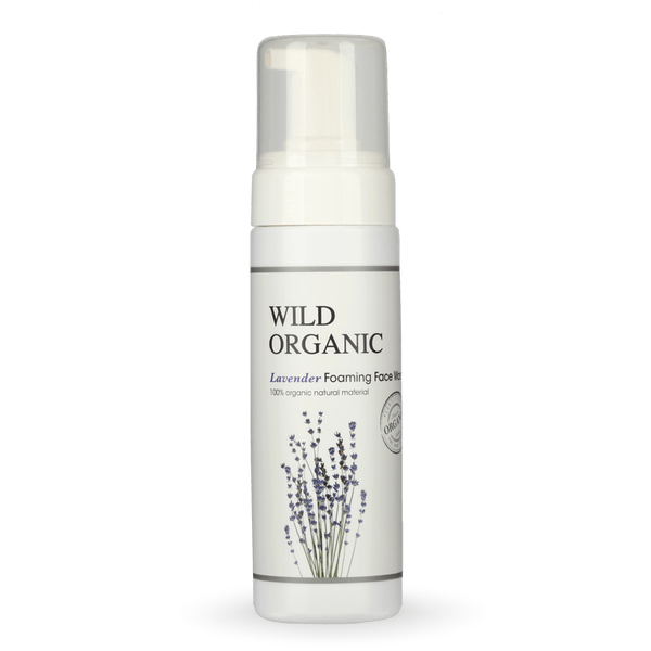 Wild Organic - Lavender Foaming Face Wash