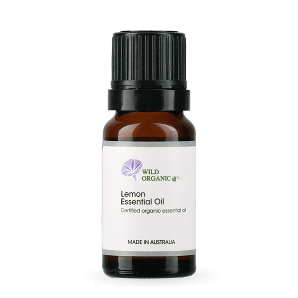Lemon Essential Oil - Wild Organic