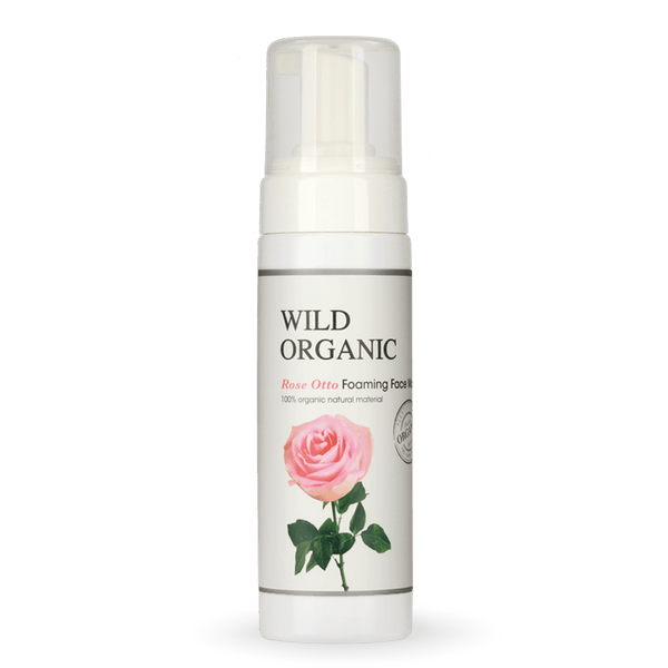 Wild Organic - Rose Otto Foaming Face Wash
