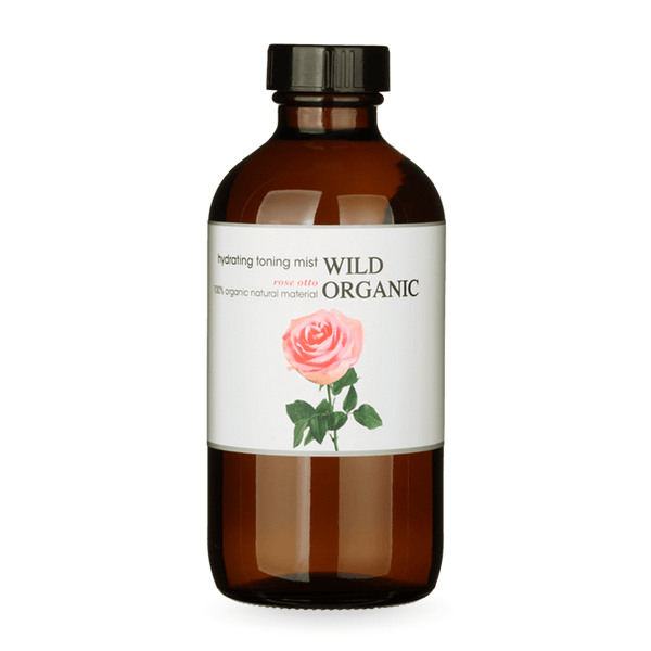 Rose Otto Organic Hydrating Floral Water - Wild Organic