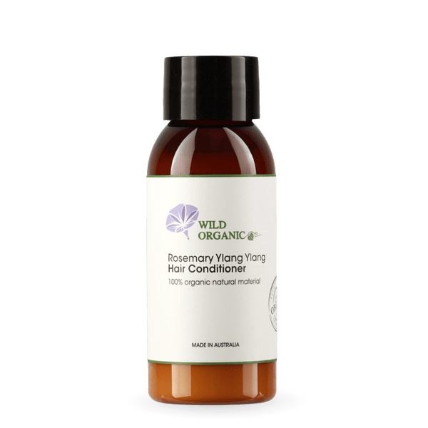 Rosemary Ylang Ylang Hair Conditioner - Wild Organic