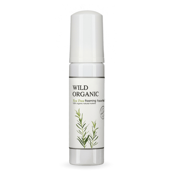 Wild Organic - Tea Tree Foaming Face Wash