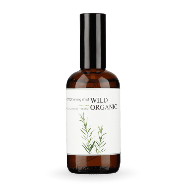 天然茶樹控油花水 - Tea Tree Oil Control Floral Water - Wild Organic