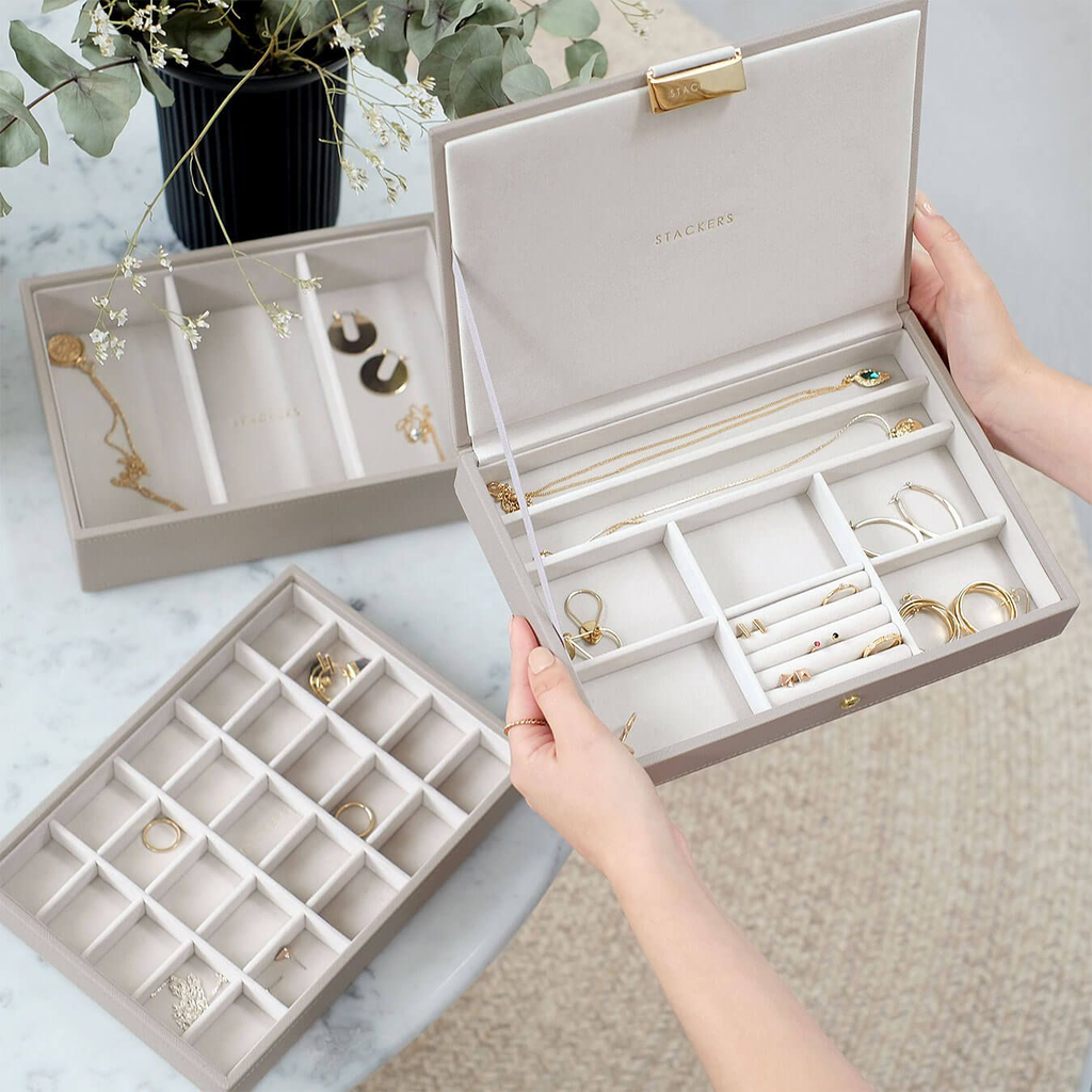 Stackers Jewellery Boxes - how to organise your jewellery efficiently