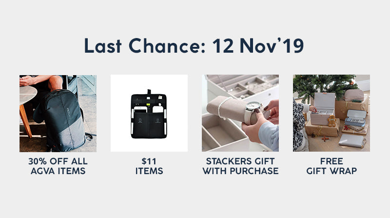 last chance to get discounted items at agva at 11.11 sale!!