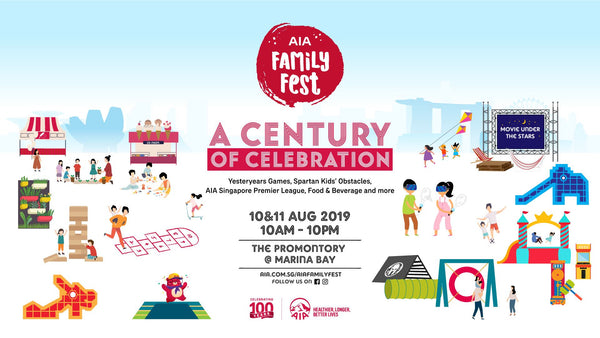 AGVA shares what to do this national day 2019 and AIA family fest is one of them
