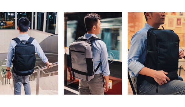 AGVA Traveller Day Pack has 2 side pockets!