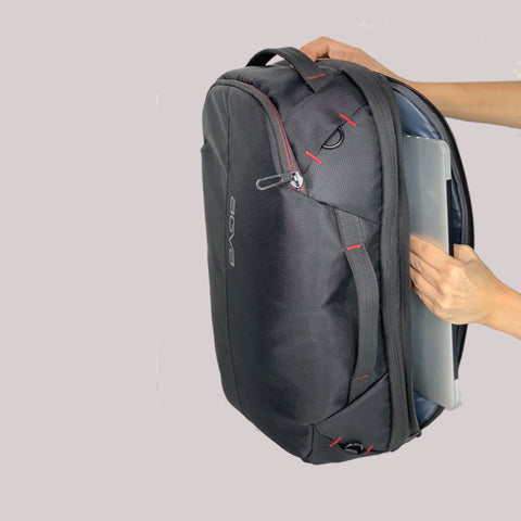 agva roadtripper bag external side compartment easy and accessible