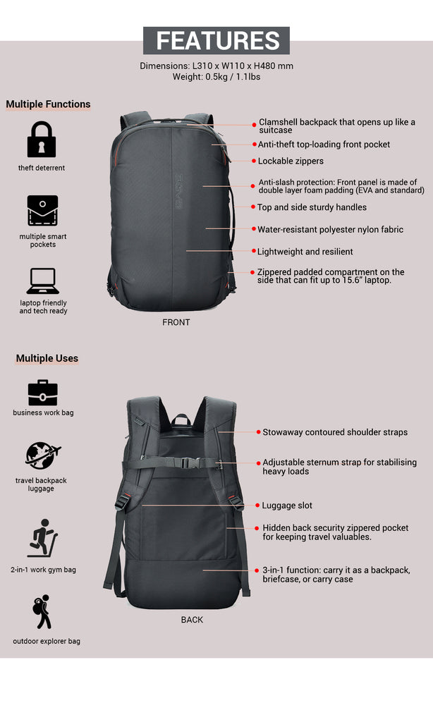 agva roadtripper bag features and functions