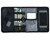 Portable travel organizer pouch ensures we have everything we need from check-in to flight boarding to on-flight to immigration all in one place!