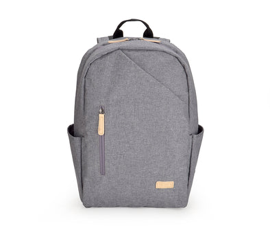 A simple, durable, laptop backpack for everyday use. Made from water-resistant polyester fabric, the urban denim laptop backpack gives the bag a washed, contemporary look all while delivering maximum protection for all its contents