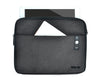 travel organizer with foldable organisational panels and inner mesh pockets