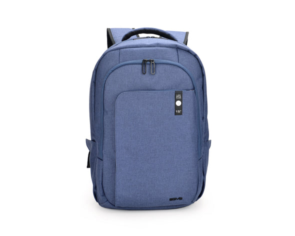 The Heritage Backpack is made for the urban traveler, the day tripper, the entrepreneur, the engineer, the go-getter. Don't be fooled by its slim exterior. AGVA weather-resistant laptop backpack has three separate spacious compartments inside for easy organisation of all personal and business belongings