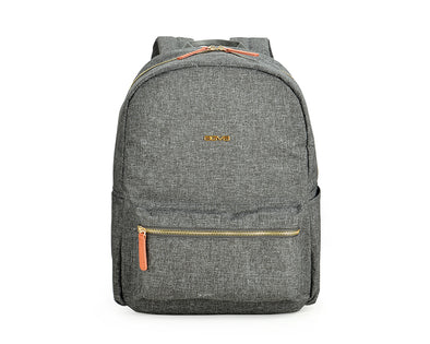 Stella laptop backpack with surprisingly spacious interior and inner and outer zippered functional pockets. These are good for organising your travel essentials + keeping you in check of your stuff. Also comes with cushioned 13.3'' laptop compartment for added gadget protection!