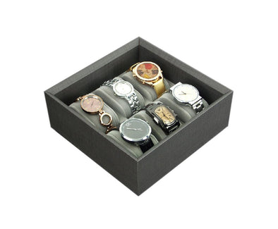 AGVA 6pc Watch Tray