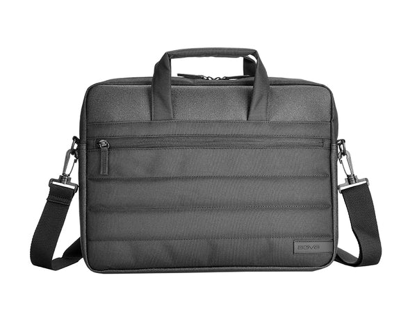 "AGVA 13.3"" Quilto Laptop Briefcase - Black"