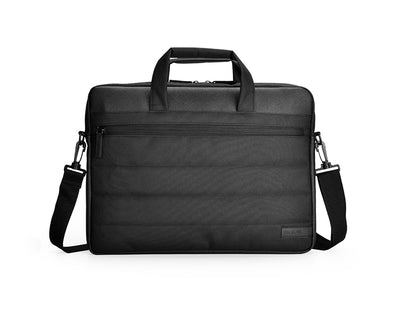 "AGVA 15.6"" Quilto Laptop Briefcase - Black"
