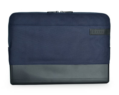 "EVOL Byron Water-Repellant Laptop Sleeve 13.3-14.1"" Blue"