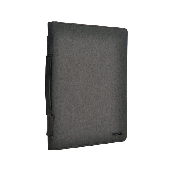 Made of high quality polyester and inner satin interior, AGVA gadget portfolio folder holds all your travel documents, cards, gadgets in one slim folder.