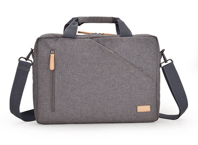 The AGVA Urban Denim Carry Case is made from a water-resistant polyester fabric that gives the laptop bag a washed, contemporary look all while delivering maximum protection for its contents.