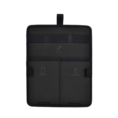 AGVA 10'' Gadget Insert Organizer is a space-saving board with elastic straps and pockets designed to store and organize your charging cables, power bank, phone, stationery in one slim board. A space-saving gadget board transferable from one laptop backpack to another