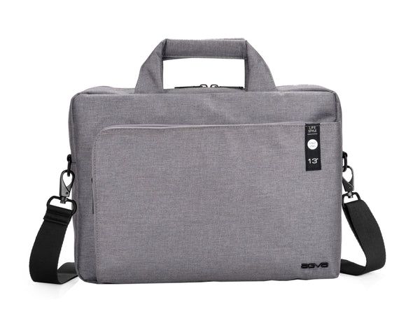 AGVA Heritage Carry Case is a sleek laptop briefcase with three separate spacious compartments for easy organization and convenient pocket access. With a removable shoulder strap and a sturdy top handle, the heritage laptop case and be a briefcase, attache or a carry case.