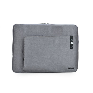 Despite the slim exterior, AGVA Heritage Laptop Cover is a sleek laptop sleeve with three separate compartments for easy organization and convenient pocket access. Front zippered pocket for your accessories and back hidden zip pocket for your travel belongings