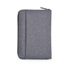 AGVA RFID Passport Case - Grey