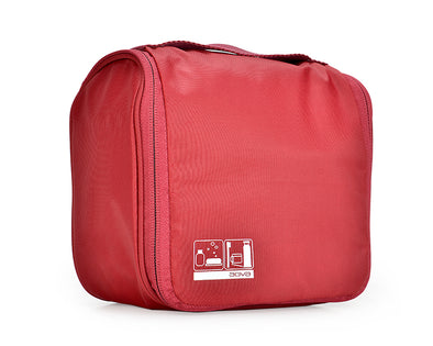 AGVA Hanging Travel Pouch - Red