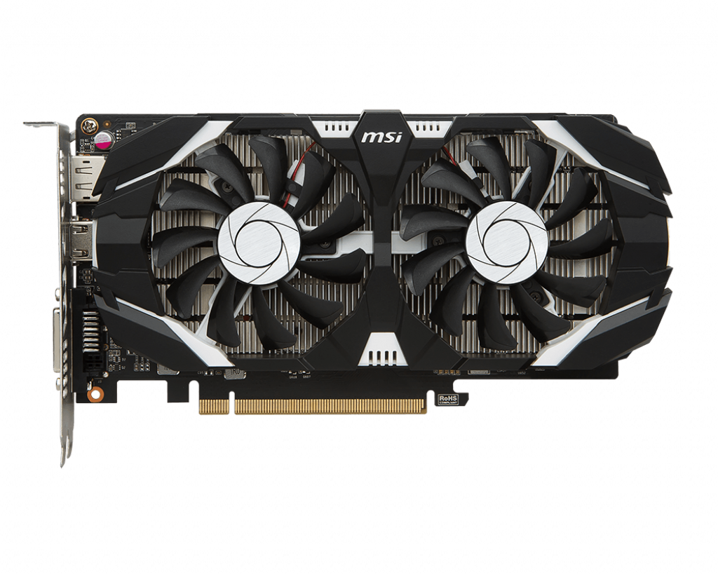 Video Card MSI GeForce GTX 1050 Ti 4GT OCV1 4GB GDDR5 128bit