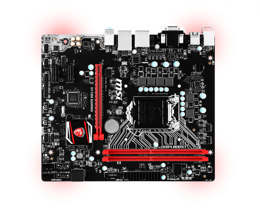Motherboard 1151 MSI H110M Gaming DDR4