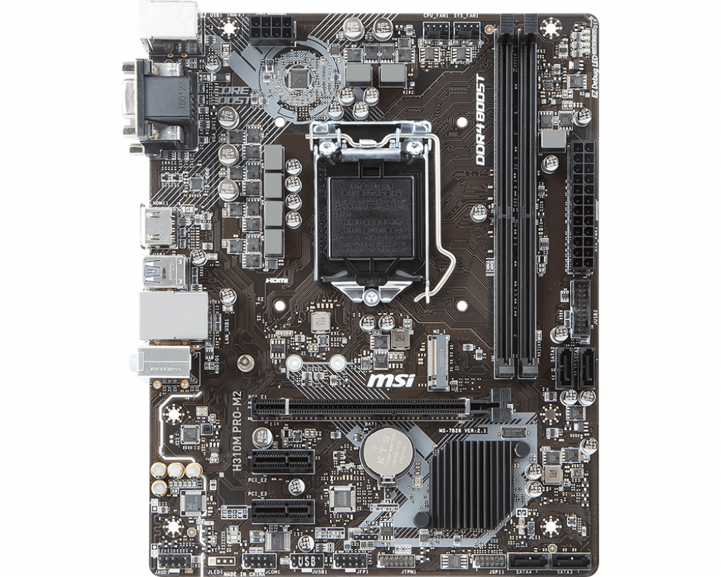 Motherboard 1151 MSI H310M Pro-M2 DDR4