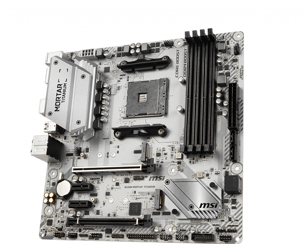 Motherboard AM4 MSI B450M Mortar Titanium DDR4