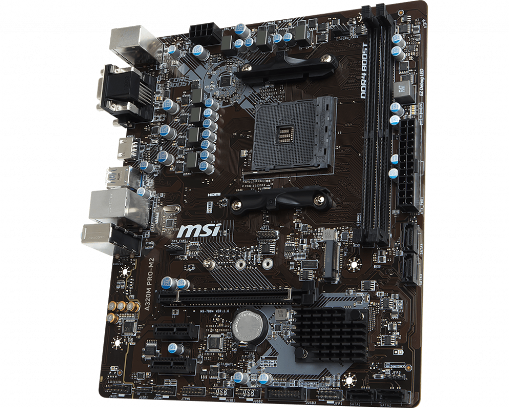 Motherboard AM4 MSI A320M Pro-M2 V2 DDR4