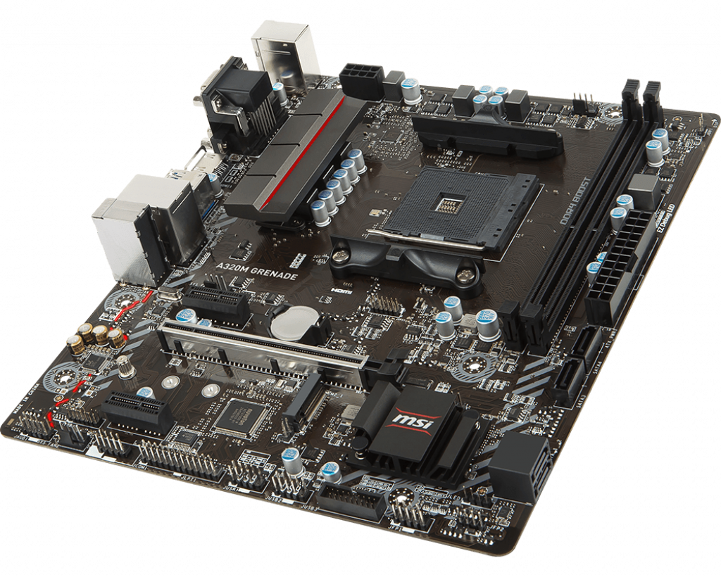 Motherboard AM4 MSI A320M Grenade DDR4