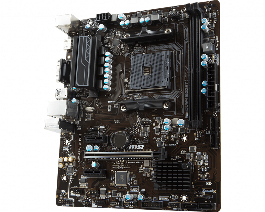 Motherboard AM4 MSI A320M Pro-VH Plus DDR4
