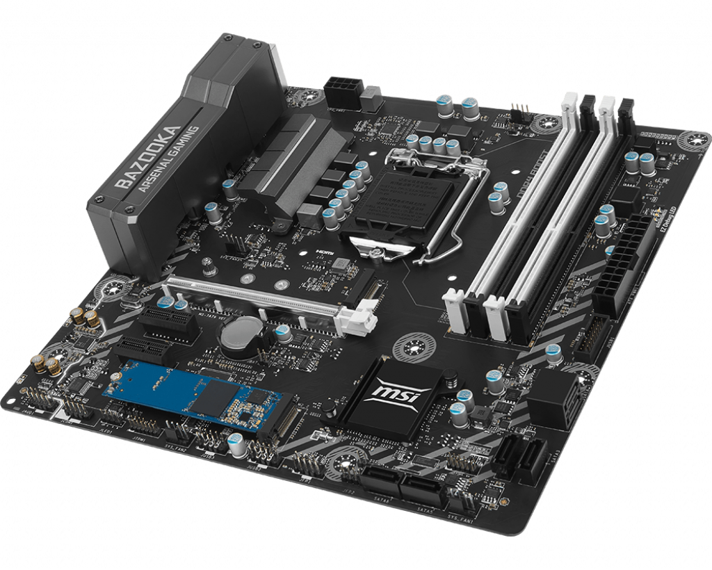 Motherboard 1151 MSI B250M Bazooka OPT Boost DDR4