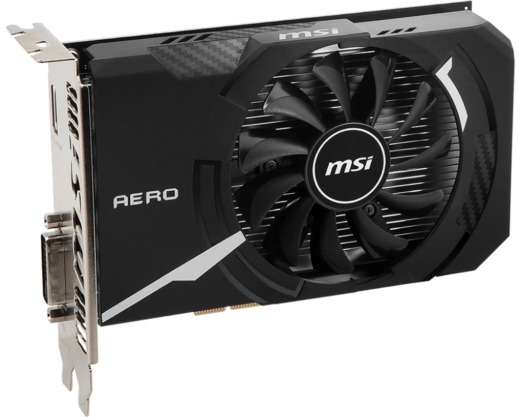 Video Card MSI GeForce GT 1030 AERO ITX 2GD4 OC 2GB DDR4 64bit