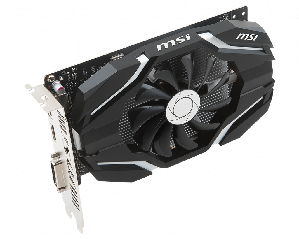 Video Card MSI GeForce GTX 1050 2G OCV1 2GB GDDR5 128bit