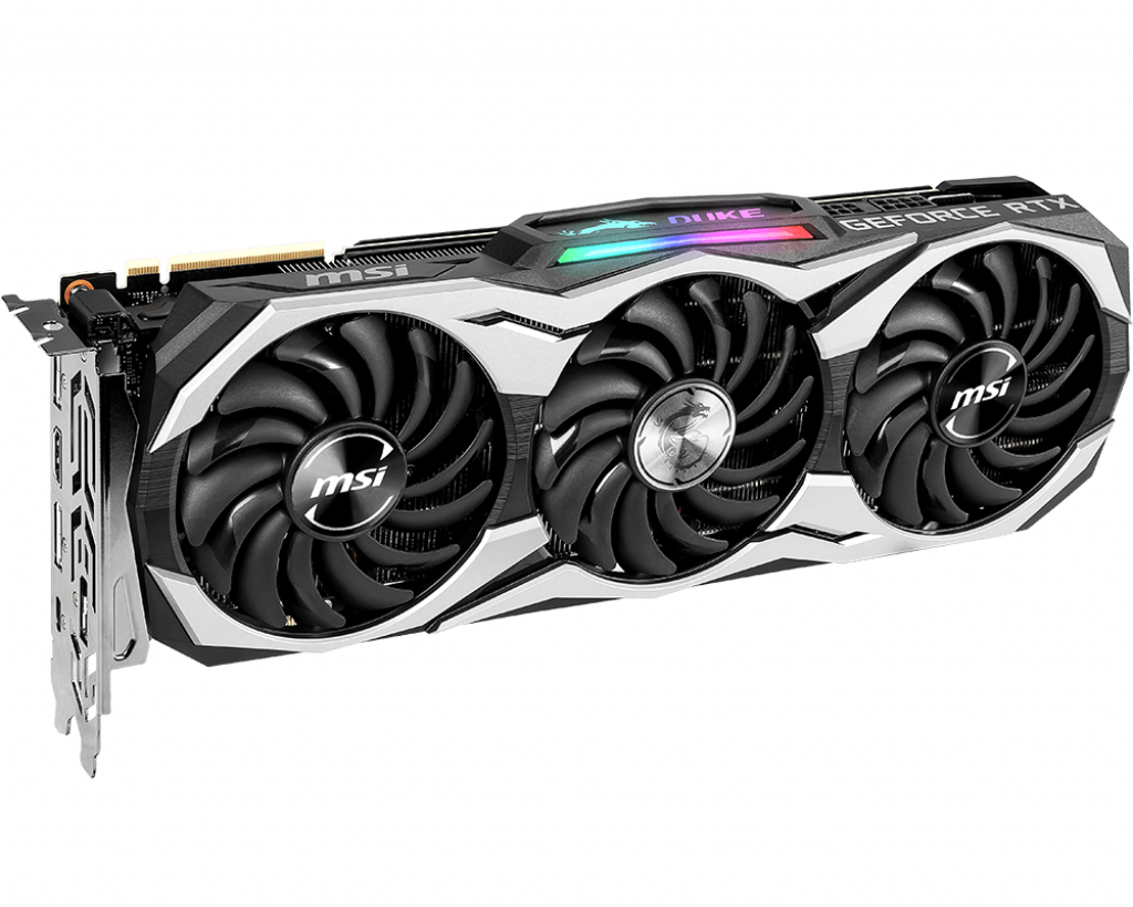 Video Card MSI GeForce RTX 2080 Duke 8G OC 8GB GDDR6 256bit