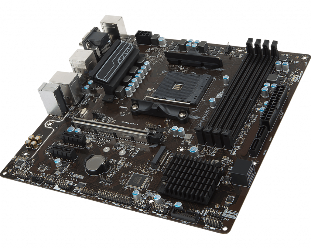 Motherboard AM4 MSI B350M Pro-VDH DDR4