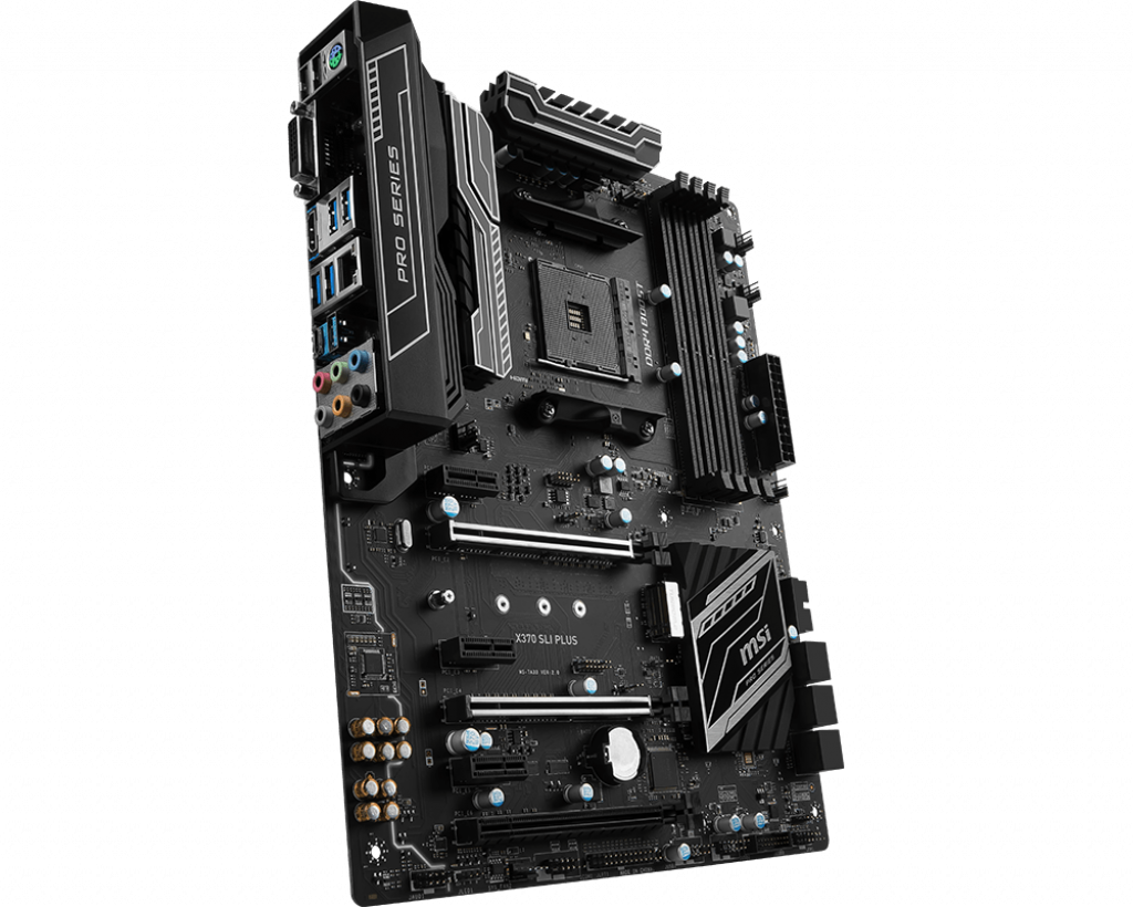 Motherboard AM4 MSI X370 SLI Plus DDR4