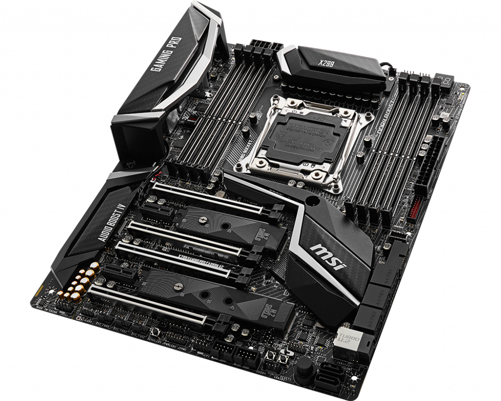 Motherboard 2066 MSI X299 Gaming Pro Carbon AC DDR4