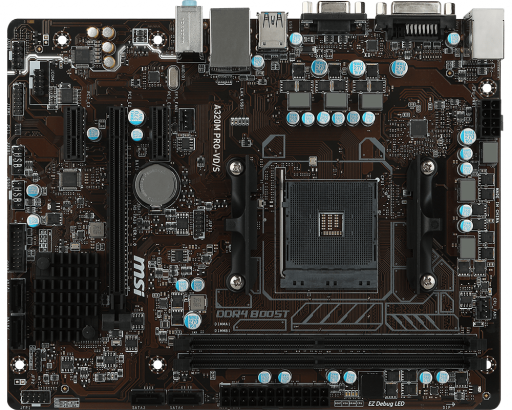 Motherboard AM4 MSI A320M Pro-VD/S DDR4