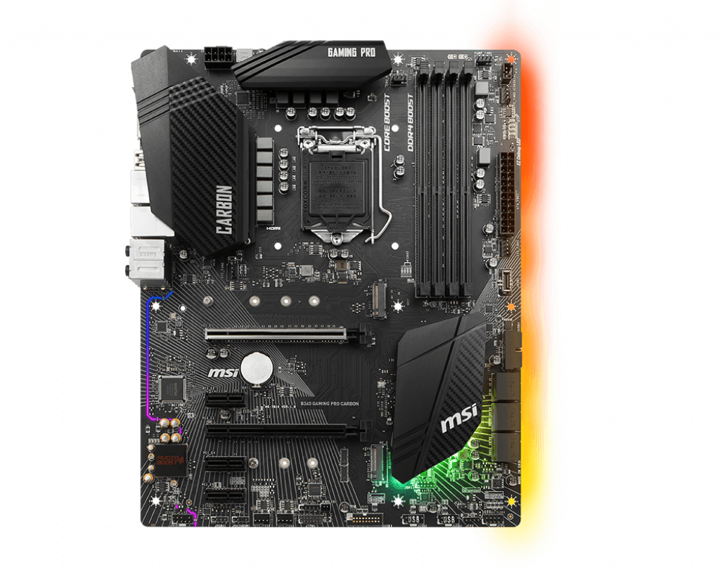 Motherboard 1151 MSI B360 Gaming Pro Carbon DDR4