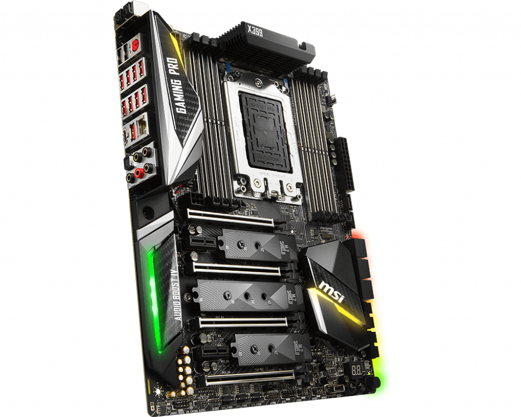 Motherboard TR4 MSI X399 Gaming Pro Carbon AC DDR4