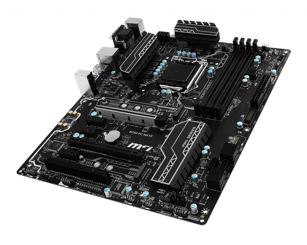 Motherboard 1151 MSI B250 PC Mate DDR4
