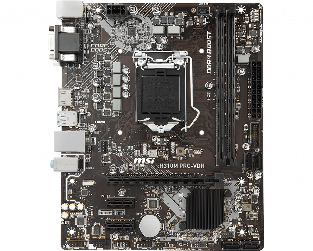 Motherboard 1151 MSI H310M Pro-VDH DDR4