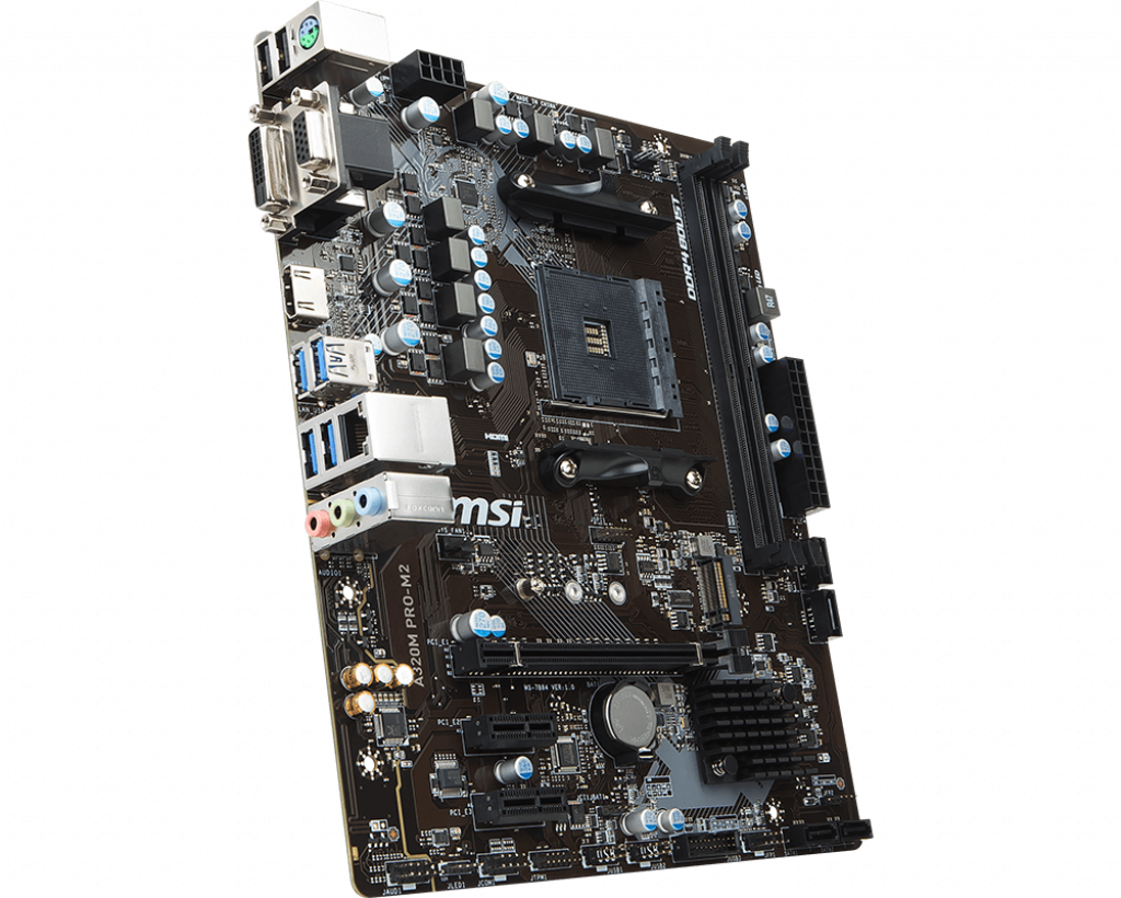 Motherboard AM4 MSI A320M Pro-M2 DDR4