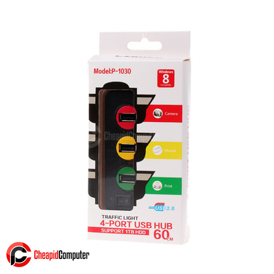 Accessories USB Punada Traffic Light 4 Ports Hub